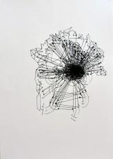 5, marqueur sur papier, 70 x 50 cm