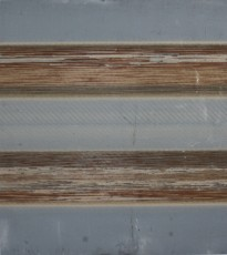 abrasif usagé marouflé sur dibond, 136 x 120 cm