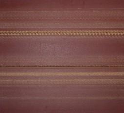 abrasif usagé marouflé sur dibond, 114 x 125 cm