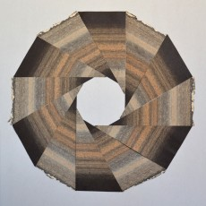 dodécagone, 80 x 80 cm