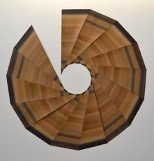 pentadécagone, 122 x 122 cm