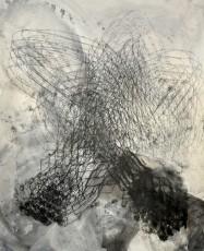 encre de gravure sur papier, 122 x 99cm