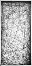 encre de gravure sur papier, 250X120cm